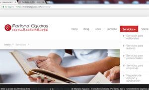 Mariana Eguaras. Lámina pantalla