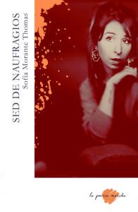Portada del libro de poesía Naufragios, de Sofía Morante. La poesía mancha, Escritores de hoy