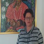 Fotografía de María Cutiño, autora de El llanto de las palmeras. Escritores de hoy, Editorial Adarve
