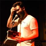 Quique Vasallo, autor de editorial La poesía mancha. Escritores de hoy