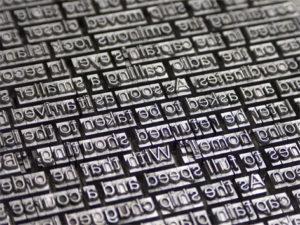 plancha de imprenta