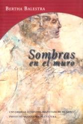 Portada Sombras en el muro de Bertha Balestra. Publicar un libro, Editorial Adarve, Editoriales actuales de España