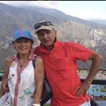 Foto de Armando González y su mujer. Editorial Adarve, Escritores de hoy, Cursos de maquetación, Cursos de corrección, Promoción de autores, Publicar un libro