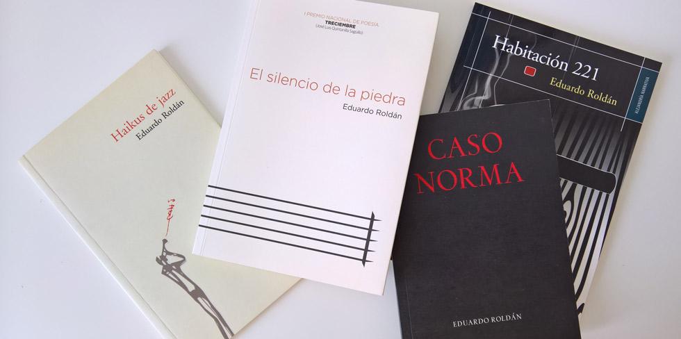 libros de Eduardo Roldán. Editorial Adarve, Escritores de hoy, Publicar un libro, Cursos de maquetación, Cursos de corrección, Promoción de autore