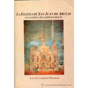Portada del libro La iglesia de San Juan de Arucas de Javier Campos Oramas. Escritores de hoy, Publicar un libro