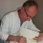 Fotografía del escritor José Ignacio Fulgencio Casado autor del libro El aroma de la hierbabuena. Editorial Adarve, Editoriales que aceptan manuscritos