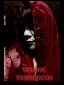 Portada del libro Versos Vampíricos de July Hernández. Escritores de hoy, cursos de maquetación
