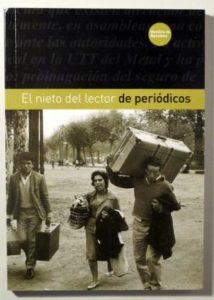 El lector de periodicos de Joaquina Utrera. Escritores de hoy, Publicar un libro