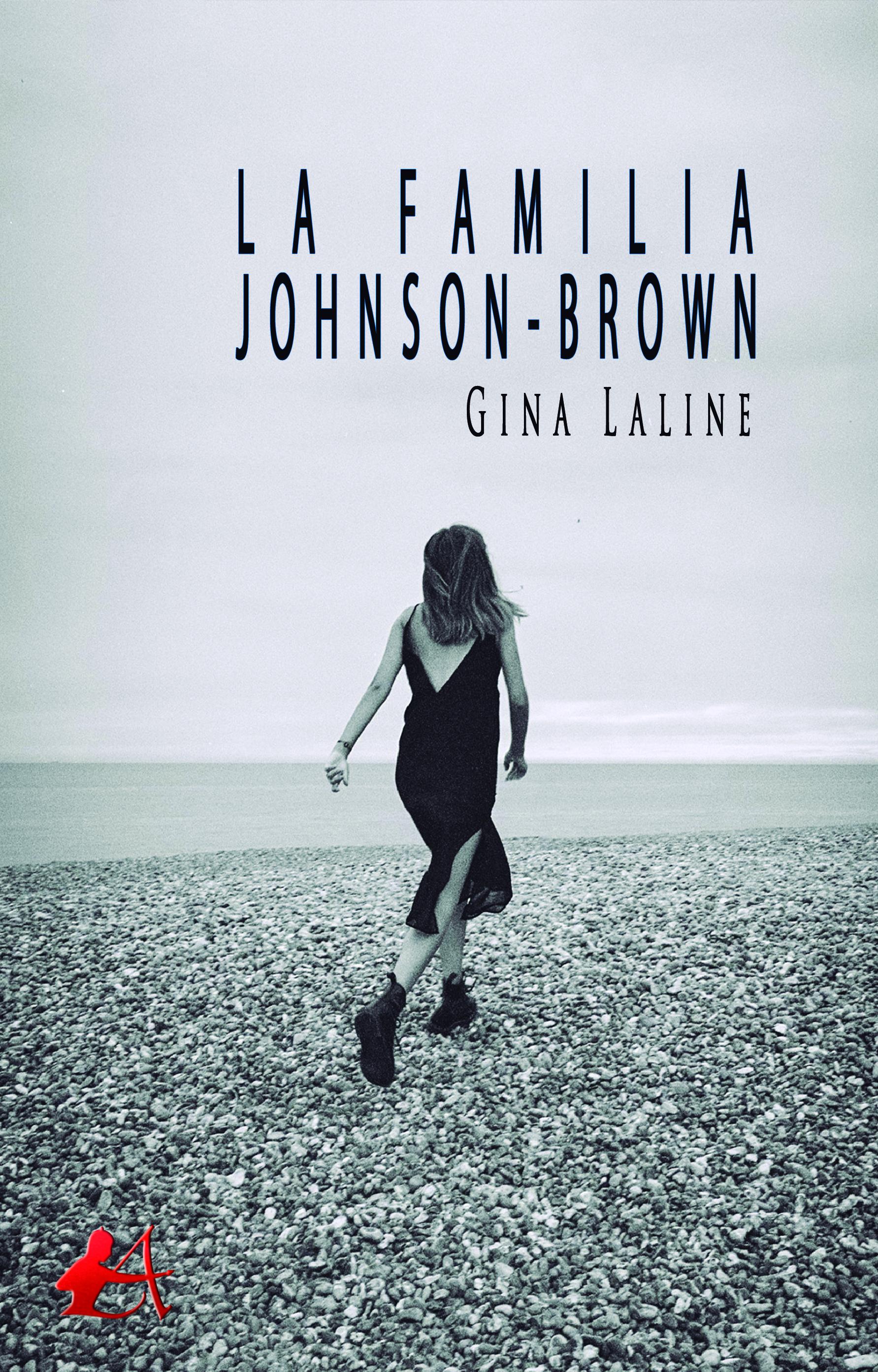 Portada del libro La familia Johnson-Brown de Gina Laline. Editorial Adarve, Escritores de hoy