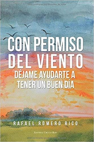 Portada del libro Con permiso del viento de Rafael Rico Romero. Escritores de hoy, Promoción de autores