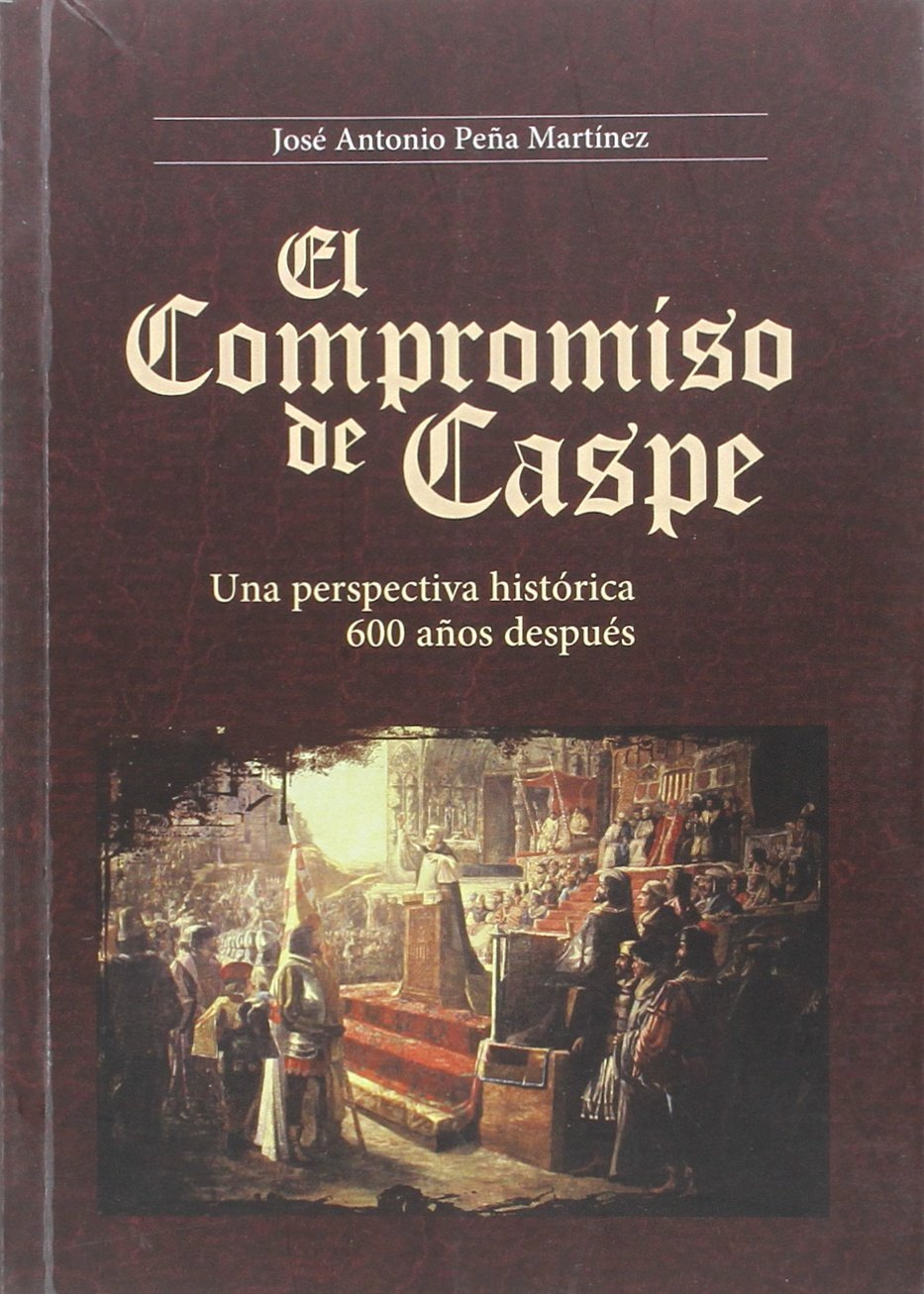 El compromiso de Caspe de José Antonio Peña Martínez. Escritores de hoy, Publicar un libro