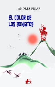 Portada del libro El color de los boniatos de Andrés Pinar. Editorial Adarve, Publicar un libro