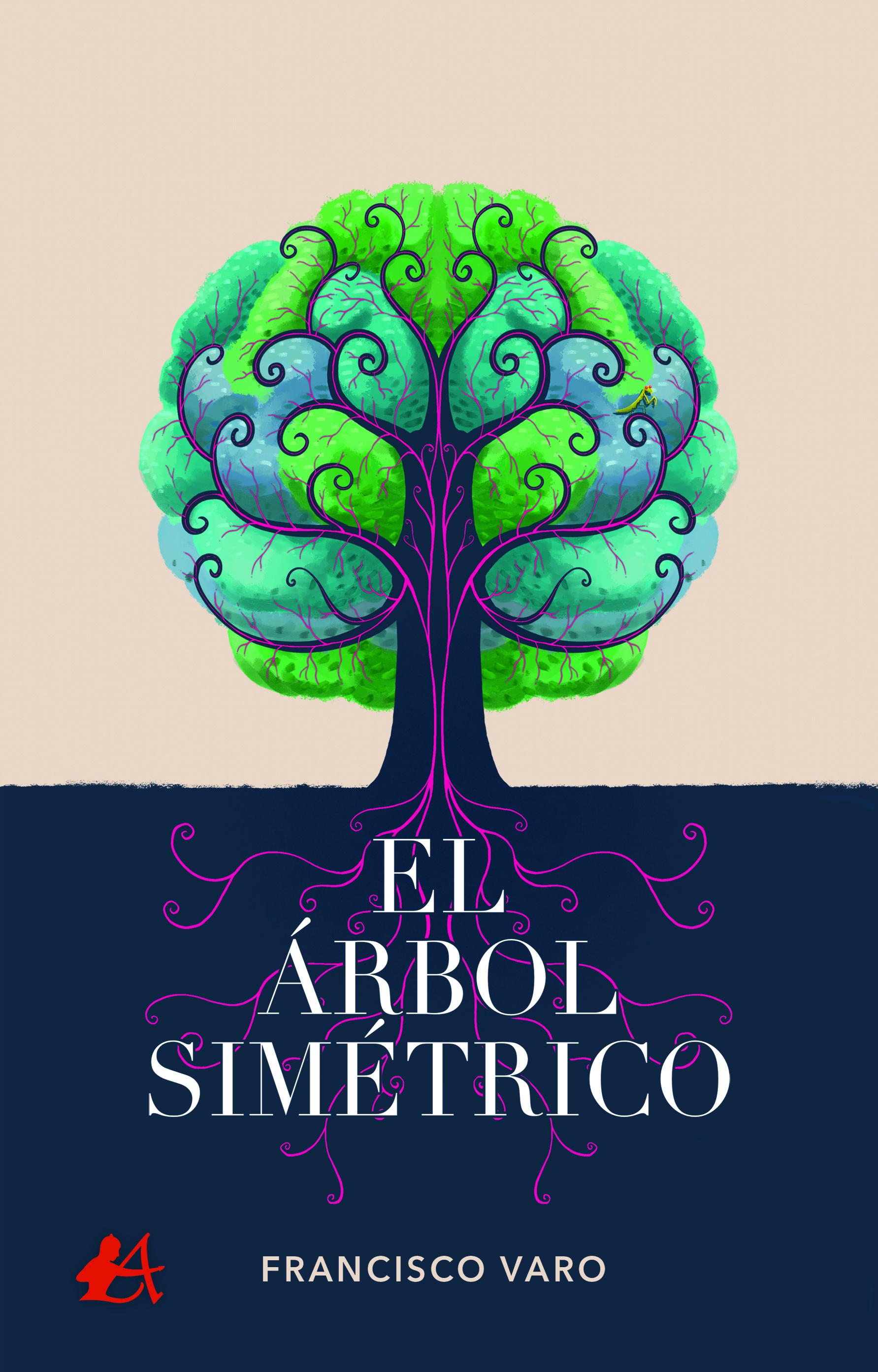 Portada del libro El árbol simétrico de Francisco Varo. Editorial Adarve, Escritores de hoy