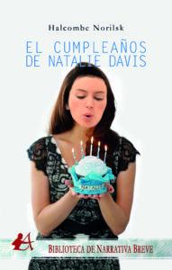 Portada del libro El cumpleaños de Natalie Davis. Editorial Adarve, Editoriales de España