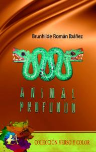 Portada del libro Animal profundo de Brunhilde Román Ibáñez. Editorial Adarve, Publicar un libro