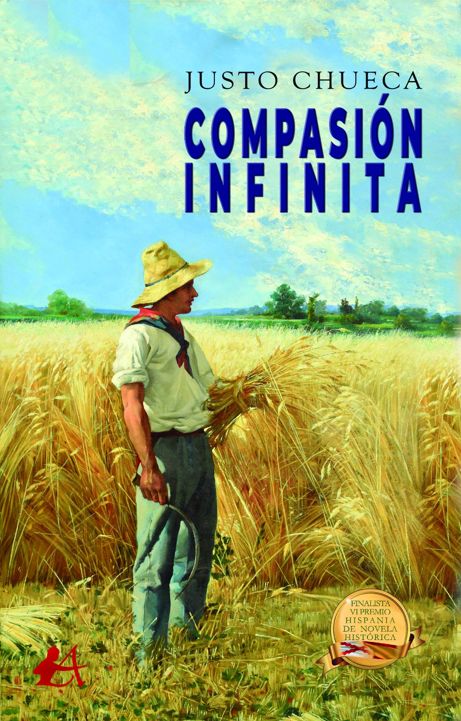 Portada del libro Compasión infinita de Justo Chueca. Editorial Adarve, Enviar un manuscrito