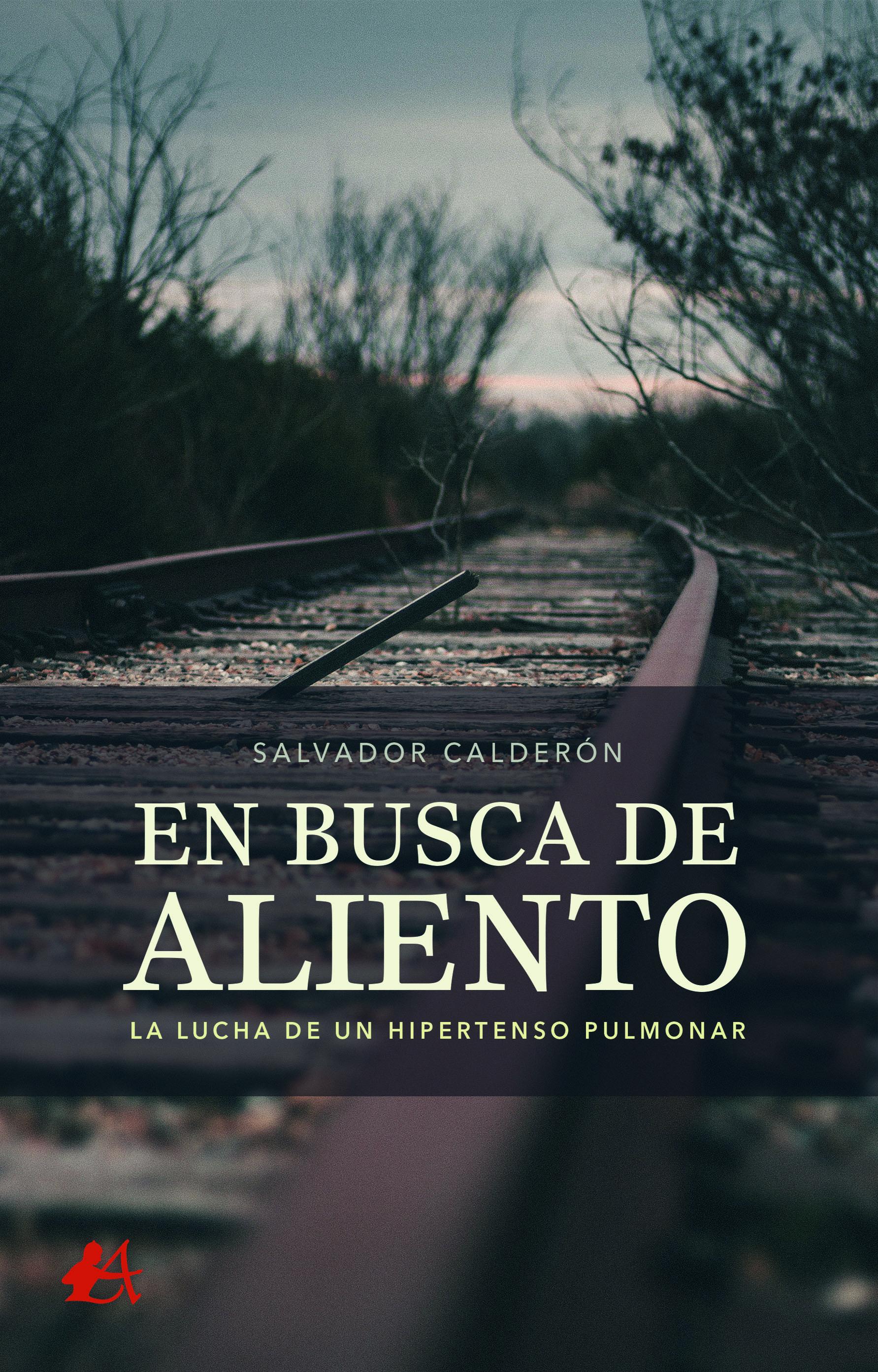 Portada del libro En busca de aliento de Salvador Calderón. Editorial Adarve, Promoción de autores
