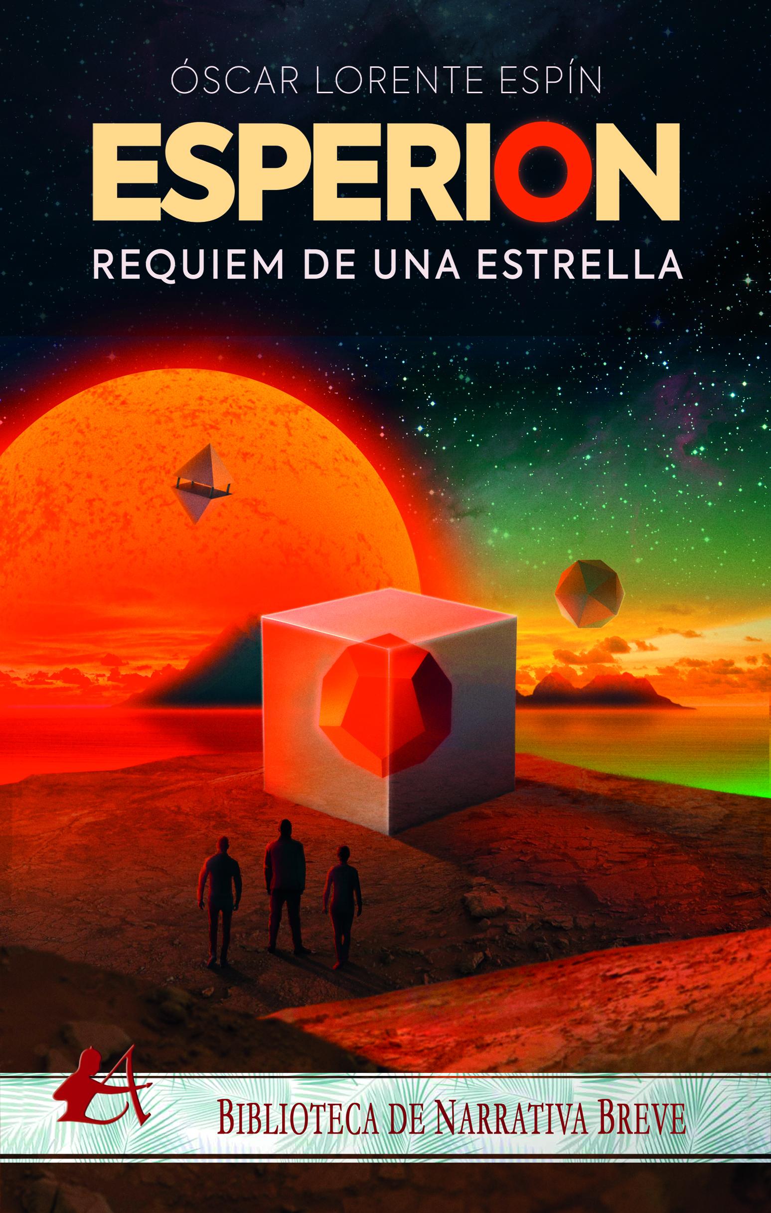 Portada del libro Esperion Réquiem de una estrella de Óscar Lorente Espín. Editorial Adarve, Publicar un libro