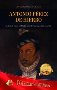 Portada del libro Antonio Pérez de Hierro de José Luis Basulto Ortega. Editorial Adarve, Escritores de hoy