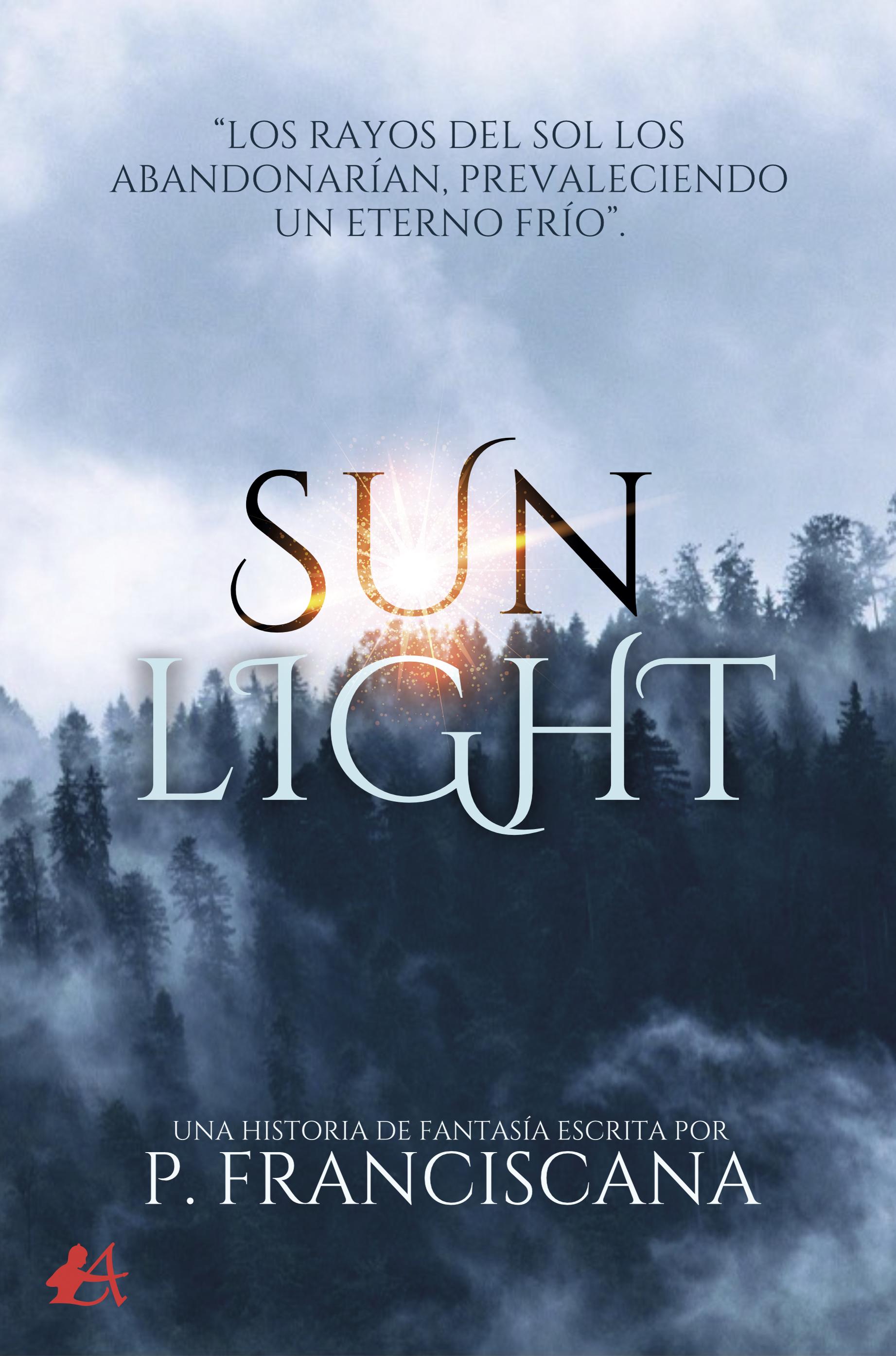 Portada del libro Sunlight de P Franciscana. Editorial Adarve, Publicar un libro