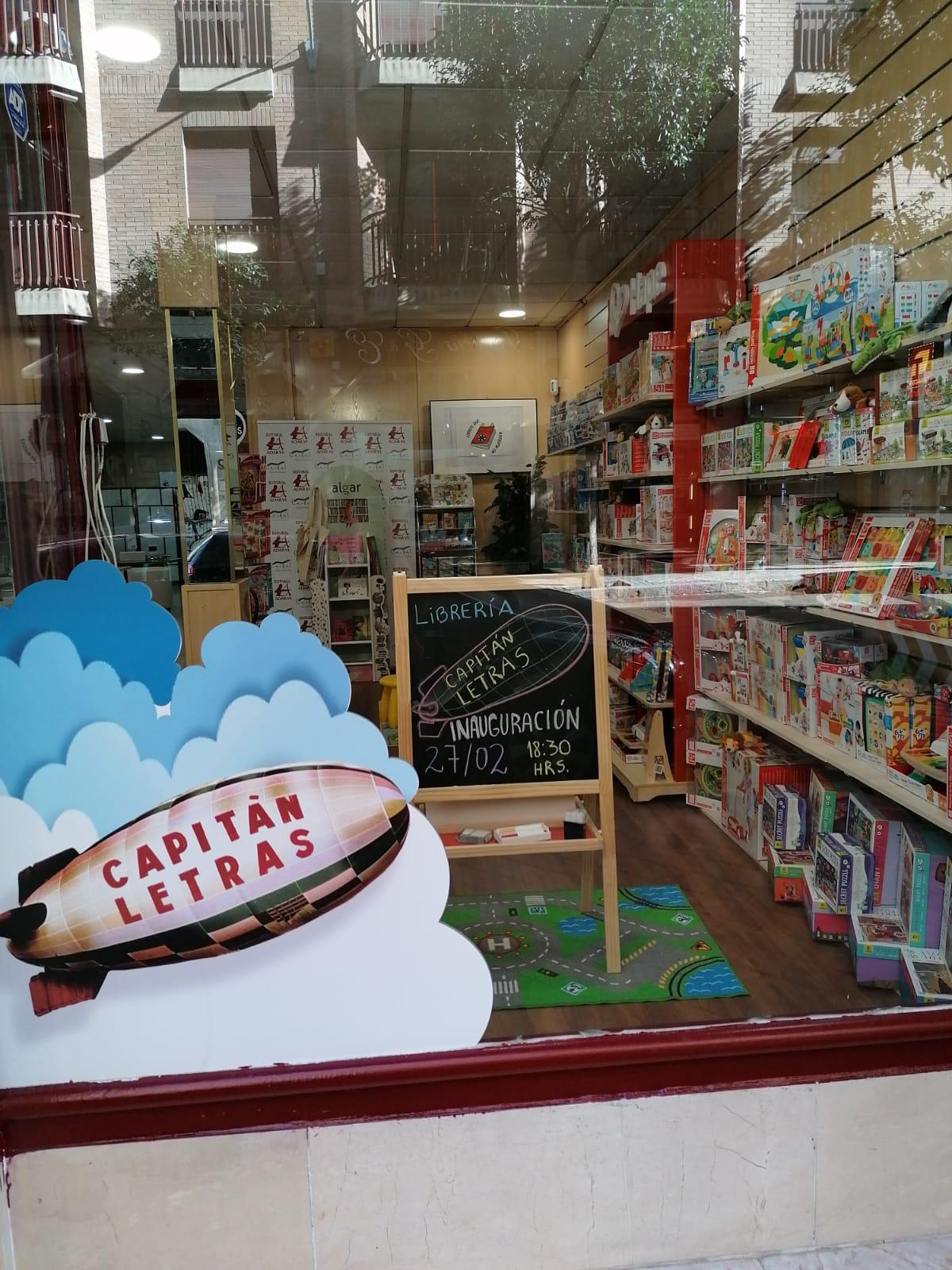 Librería Infantil Capitán Letras